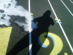 ~My Shadow on the Demon's Track at Santa Fe High~