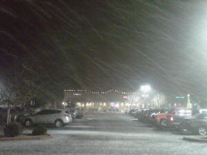 ~Snow Arrives in Santa Fe on Christmas Eve- 12.24.2012~