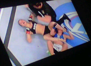 Ronda Rousey takes it~ UFC® 157