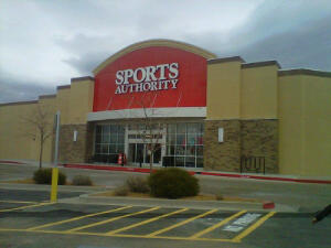 --Sports Authority in Santa Fe, New Mexico--