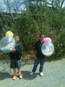 The Lil Men (Daryn and Isaiah) for Easter~ 3.31.2013