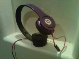 ~Felicia's new purple headphones (Beats Solo HD by Dr. Dre)~